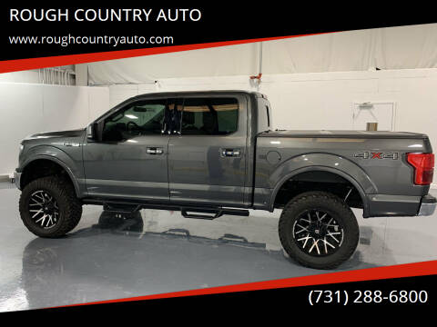 2019 Ford F-150 for sale at ROUGH COUNTRY AUTO in Dyersburg TN