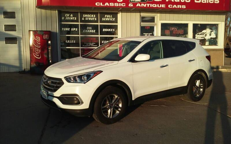 2018 Hyundai Santa Fe Sport for sale at Bob's Garage Auto Sales and Towing in Storm Lake IA