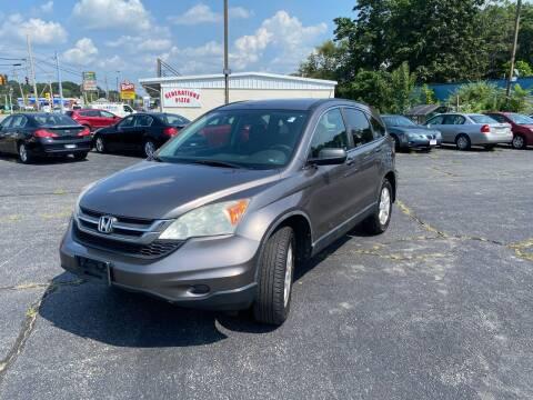 2011 Honda CR-V for sale at M & J Auto Sales in Attleboro MA