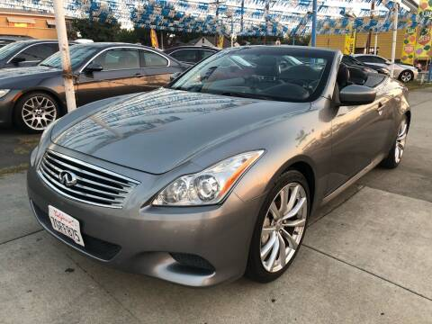 2010 Infiniti G37 Convertible for sale at Plaza Auto Sales in Los Angeles CA