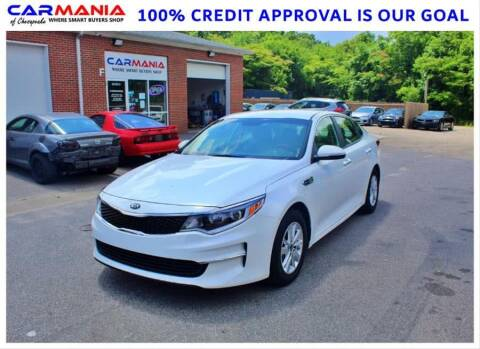 2016 Kia Optima for sale at CARMANIA LLC in Chesapeake VA
