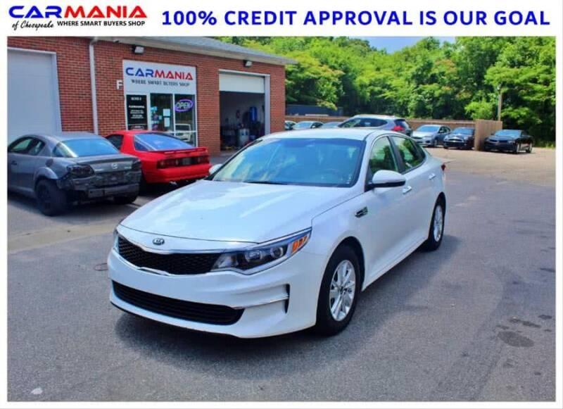 2016 Kia Optima for sale at CARMANIA LLC in Chesapeake VA