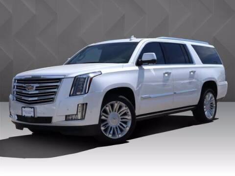 2018 Cadillac Escalade ESV for sale at BIG STAR HYUNDAI in Houston TX