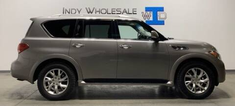 2011 Infiniti QX56 for sale at Indy Wholesale Direct in Carmel IN