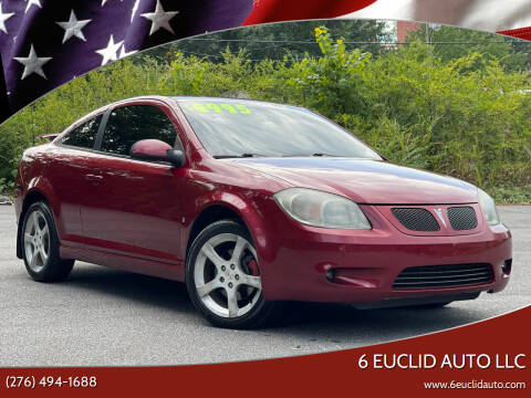 2007 Pontiac G5 for sale at 6 Euclid Auto LLC in Bristol VA