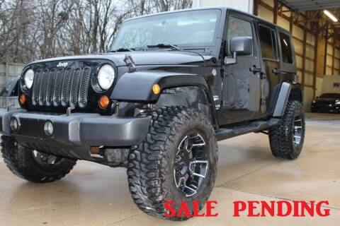 2008 Jeep Wrangler Unlimited for sale at CHIPPERS LUXURY AUTO, INC in Shorewood IL