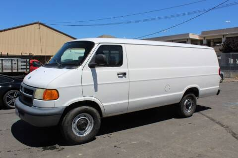 2002 Dodge Ram Cargo for sale at CA Lease Returns in Livermore CA