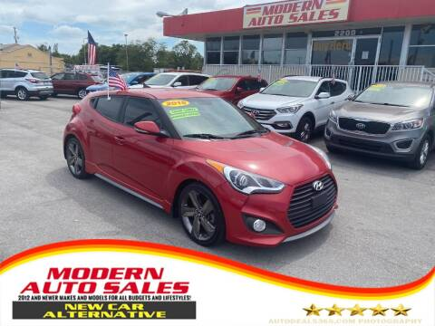 2015 Hyundai Veloster for sale at Modern Auto Sales in Hollywood FL