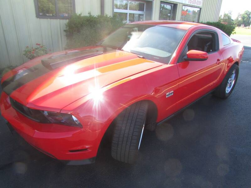 2012 Ford Mustang for sale at Toybox Rides in Black River Falls WI