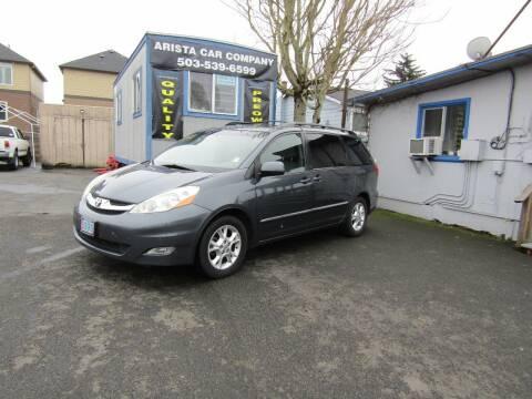 2006 Toyota Sienna for sale at ARISTA CAR COMPANY LLC in Portland OR