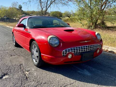 2002 Ford Thunderbird for sale at Texas Auto Trade Center in San Antonio TX