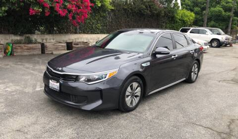 2017 Kia Optima Hybrid for sale at Eden Motor Group in Los Angeles CA