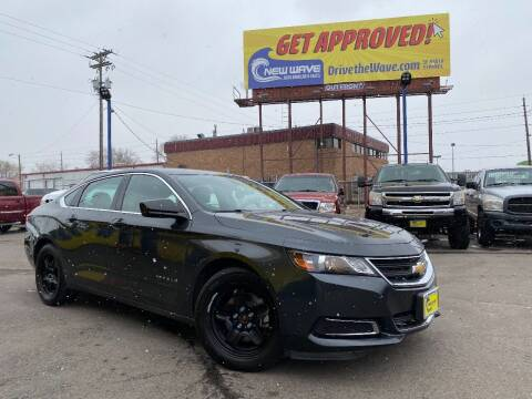 2015 Chevrolet Impala for sale at New Wave Auto Brokers & Sales in Denver CO
