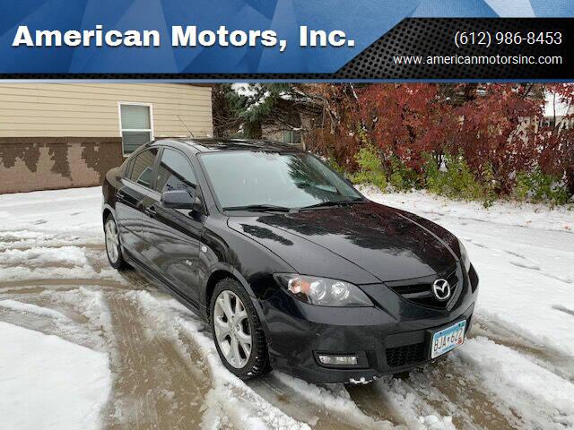 2008 Mazda MAZDA3 for sale at American Motors, Inc. in Farmington MN
