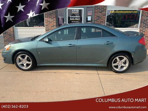2009 Pontiac G6 for sale at Columbus Auto Mart in Columbus NE