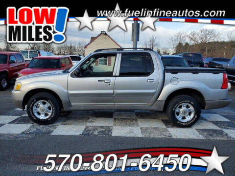 2003 Ford Explorer Sport Trac for sale at FUELIN FINE AUTO SALES INC in Saylorsburg PA