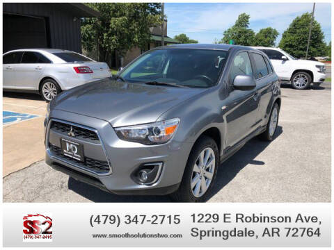 2014 Mitsubishi Outlander Sport for sale at Smooth Solutions 2 LLC in Springdale AR