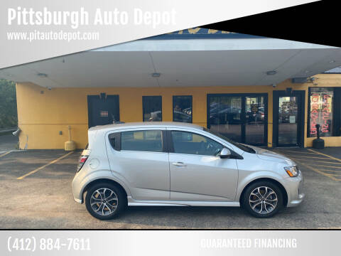 2020 Chevrolet Sonic for sale at Pittsburgh Auto Depot in Pittsburgh PA