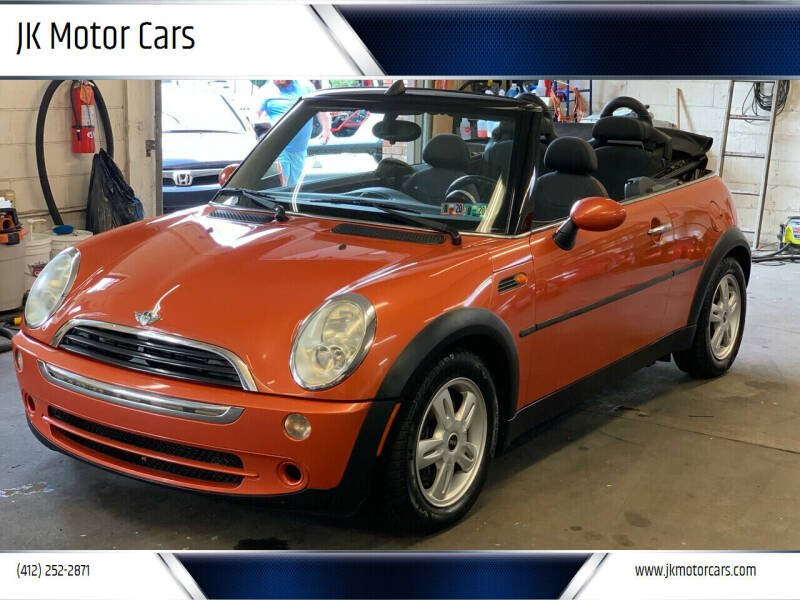2005 MINI Cooper for sale at JK Motor Cars in Pittsburgh PA