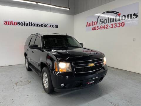 2014 Chevrolet Tahoe for sale at Auto Solutions in Warr Acres OK