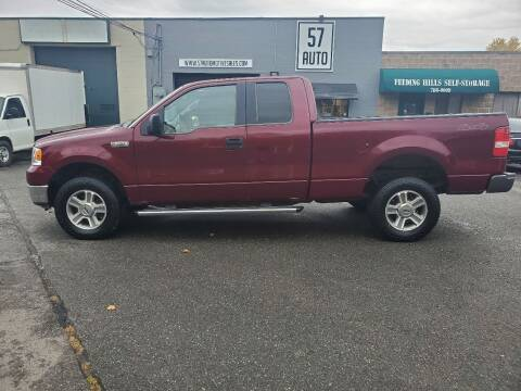 2005 Ford F-150 for sale at 57 AUTO in Feeding Hills MA