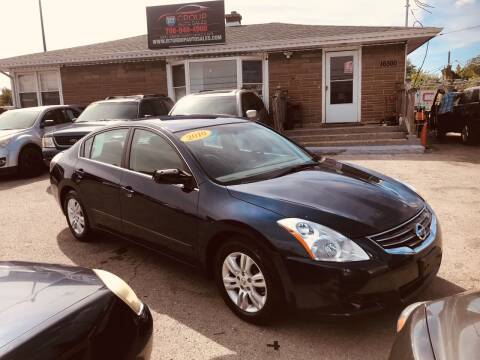 2010 Nissan Altima for sale at I57 Group Auto Sales in Country Club Hills IL