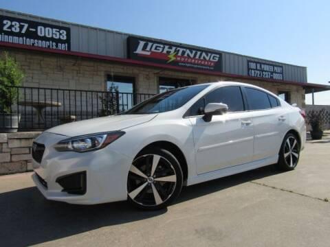 2017 Subaru Impreza for sale at Lightning Motorsports in Grand Prairie TX