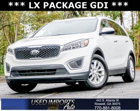 2016 Kia Sorento for sale at Used Imports Auto in Roswell GA