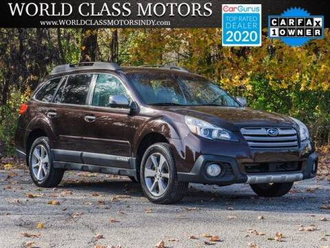 2013 Subaru Outback for sale at World Class Motors LLC in Noblesville IN