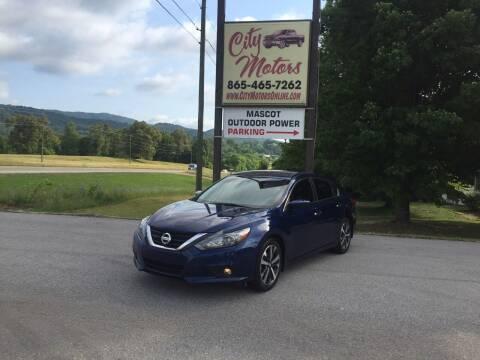 2017 Nissan Altima for sale at City Motors in Mascot TN