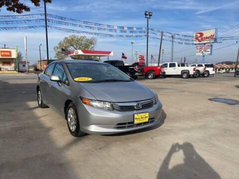 2012 Honda Civic for sale at Russell Smith Auto in Fort Worth TX