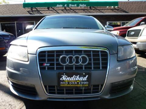 2007 Audi S6 for sale at Sindibad Auto Sale, LLC in Englewood CO