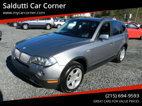 2007 BMW X3 for sale at Saldutti Car Corner in Gilbertsville PA