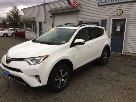 2017 Toyota RAV4 for sale at CLARKS AUTO SALES INC in Houlton ME