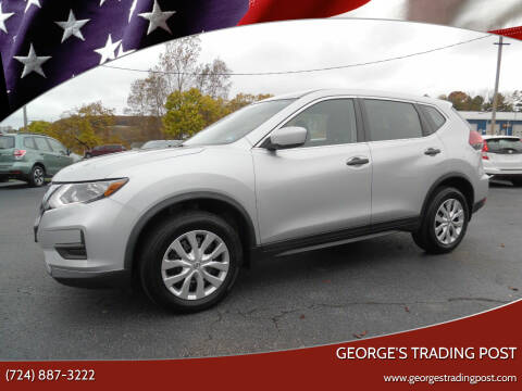 2018 Nissan Rogue for sale at GEORGE'S TRADING POST in Scottdale PA