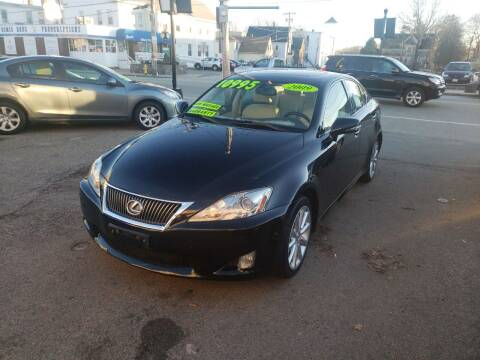 2009 Lexus IS 250 for sale at TC Auto Repair and Sales Inc in Abington MA