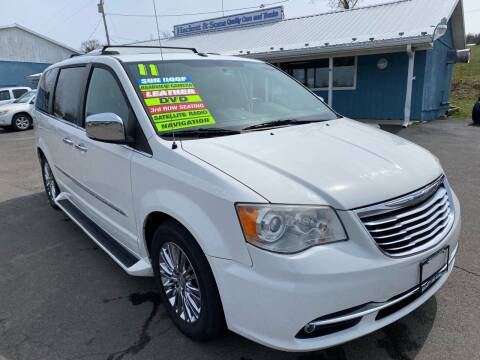 2011 Chrysler Town and Country for sale at HACKETT & SONS LLC in Nelson PA