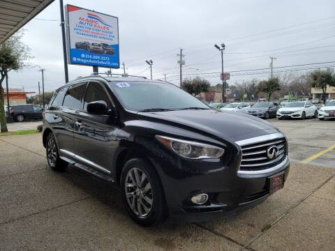 2015 Infiniti QX60 for sale at Magic Auto Sales in Dallas TX