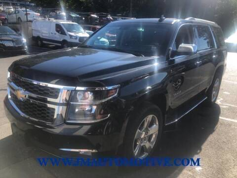 2019 Chevrolet Tahoe for sale at J & M Automotive in Naugatuck CT