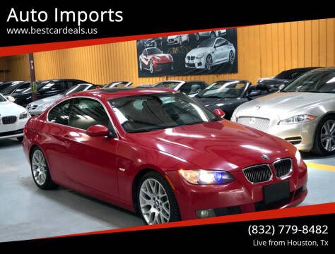 2007 BMW 3 Series for sale at Auto Imports in Houston TX