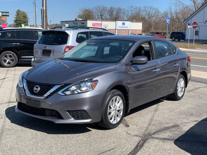 2018 Nissan Sentra for sale at Ludlow Auto Sales in Ludlow MA