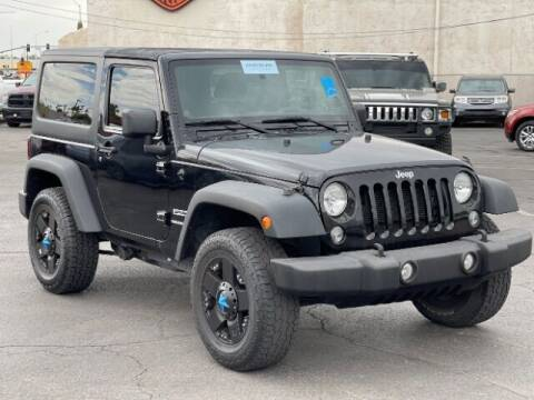 2014 Jeep Wrangler for sale at Curry's Cars Powered by Autohouse - Brown & Brown Wholesale in Mesa AZ