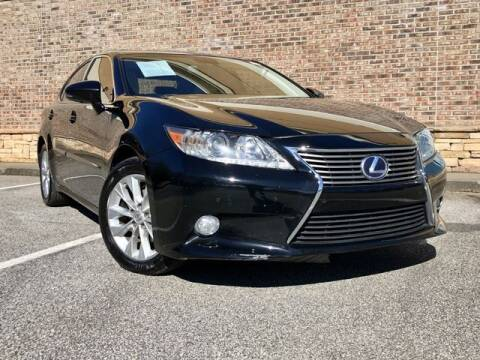 2013 Lexus ES 300h for sale at el camino auto sales in Gainesville GA