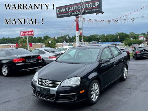 2010 Volkswagen Jetta for sale at Divan Auto Group in Feasterville Trevose PA