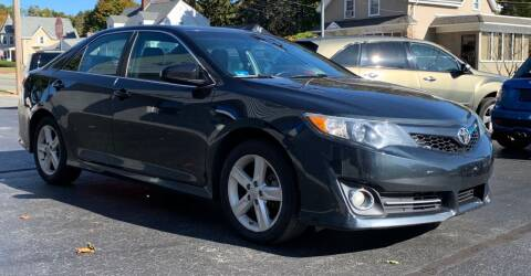 2013 Toyota Camry for sale at FAMILY AUTO SALES, INC. in Johnston RI