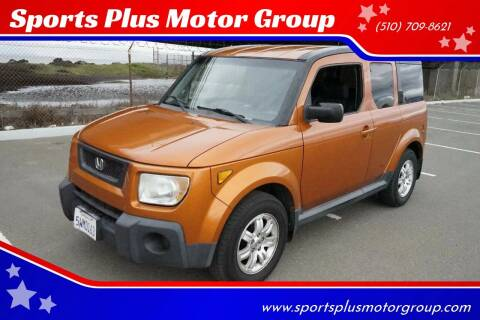 2006 Honda Element for sale at Sports Plus Motor Group LLC in Sunnyvale CA