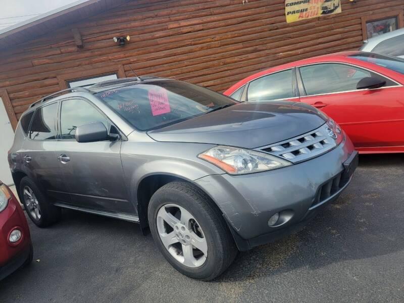 2005 Nissan Murano for sale at BRAMBILA MOTORS in Pocatello ID