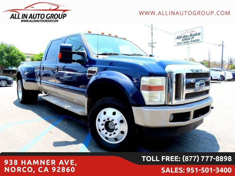 2008 Ford F-450 Super Duty for sale in Norco, CA
