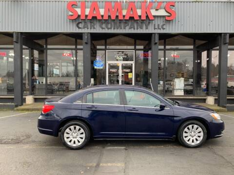 2014 Chrysler 200 for sale at Siamak's Car Company llc in Salem OR