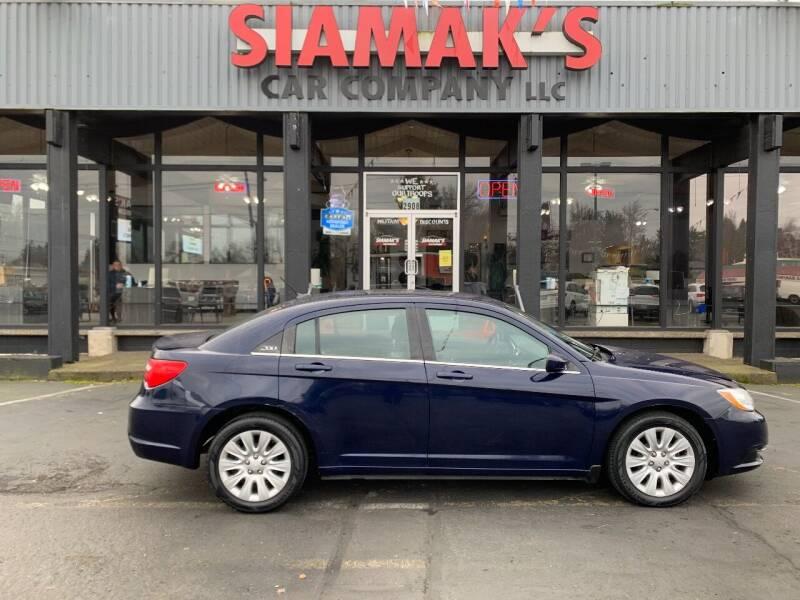 2014 Chrysler 200 for sale at Siamak's Car Company llc in Salem OR